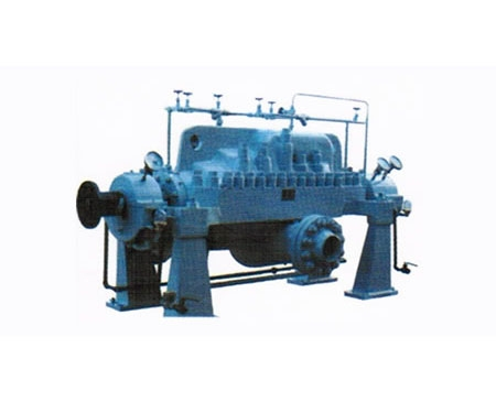 DK., DKA in open multi-stage centrifugal pump